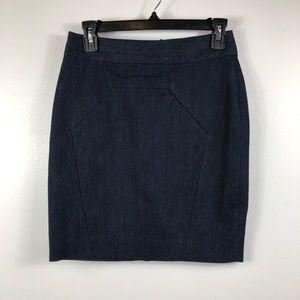 ANTHROPOLOGIE- Leifsdottir- Blue Skirt Size- 0